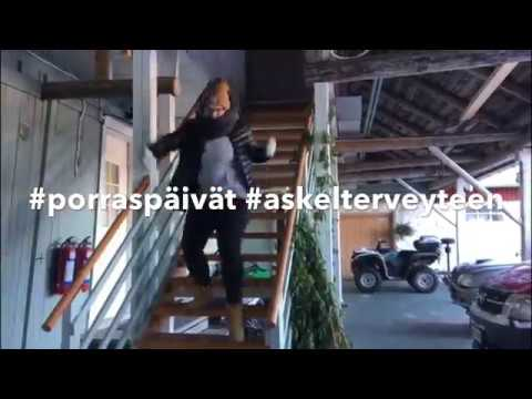 Up and Down the Stairs Day #porraspäivät at Salli