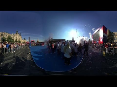 Трансляция 360: самая массовая тренировка по боксу на Красной площади