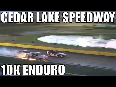 10K Enduro Highlights From Cedar Lake Speedway