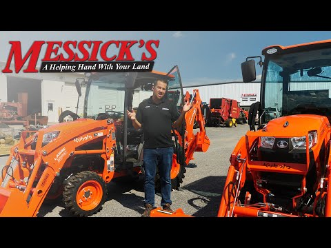 Kubota LX Series Perfection? - Optional Features Overview Picture