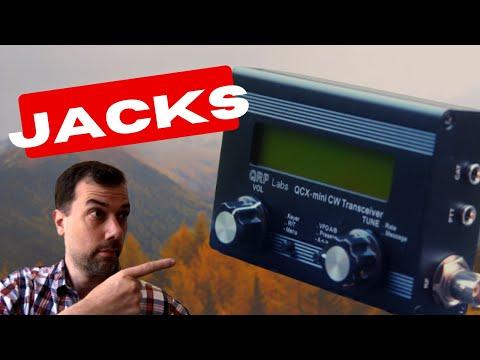 How to build a QCX Mini - Part 5 - Audio Jacks, BNC Jacks