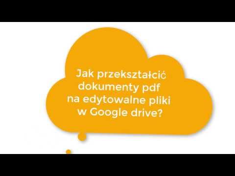 Jak włączyć automatycznie konwertowanie przesyłanych plików w dysku Google?