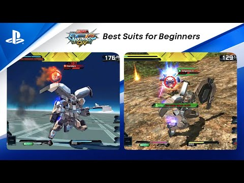 Mobile Suit Gundam Extreme vs. Maxiboost On - Best Suits for Beginners   PS CC