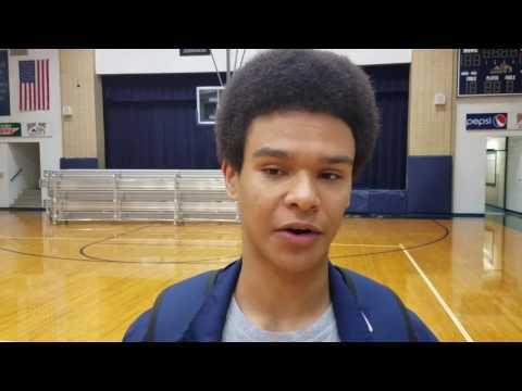 Sacred Heart junior Caleb Jordan