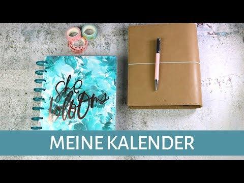 Mein Kalender 2020 | Filofax Domino und Happy Planner | gabelschereblog