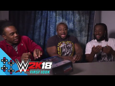 THE NEW DAY unbox WWE 2K18 Cena (Nuff) Edition EXCLUSIVE  - UpUpDownDown Unboxing - default