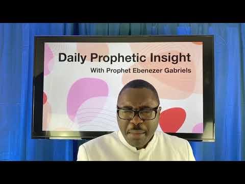 Dec 8th, Prophetic Insight