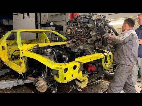 Ставим в Chevrolet CAMARO НОВЫЙ МОЩНЫЙ V8!