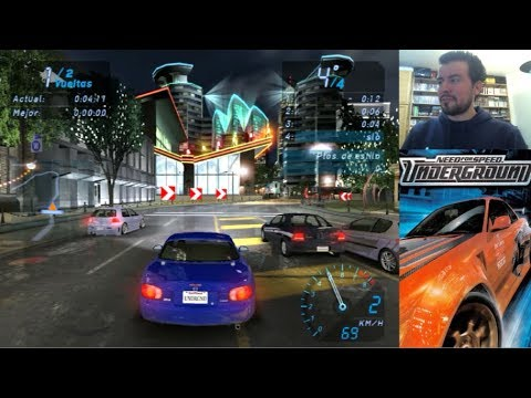 NEED FOR SPEED UNDERGROUND (PC / PS2) - Carreras callejeras || Gameplay en Español