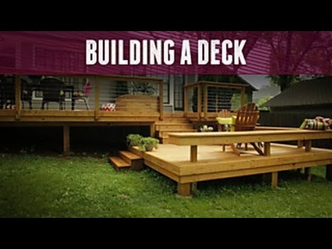 How to Build a Deck - DIY Network