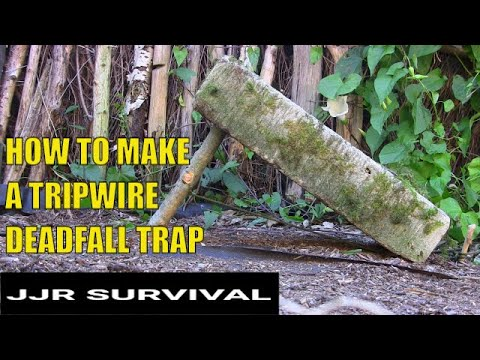 How To Make A Tripwire Deadfall Trap