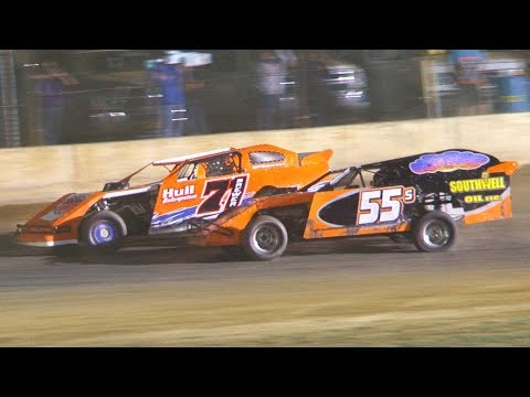 The E-Mod Feature at Stateline Speedway (Busti, NY) on Saturday, August 3rd, 2019!  Results: 1) Steve Rex 2) Butch Southwell 3) Dennis Lunger 4) Al Brewer 5) Cale Crocker 6) Mike Eschrich 7) Randy Hall 8) Greg Johnson 9) Zach Johnson 10) Dan Sasso 11) Justin Carlson 12) Tim Peterson 13) Troy Johnson 14) Tim Rockwell 15) Ron Seeley 16) Dave Lamphere 17) Mark Thrasher 18) Dominic DePoncea 19) Calvin Thomson 20) Bryon Johnson  Stateline Speedway: http://newstatelinespeedway.com/ - dirt track racing video image