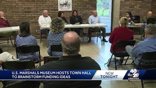 U.S. Marshals museum hosts town hall to brainstorm funding ideas