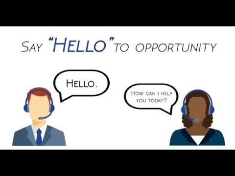 Looking for a new career in the customer service industry?