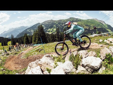 Gnarly, Fast and Steep Downhill at UCI MTB World Cup 2017 in Lenzerheide, Switzerland