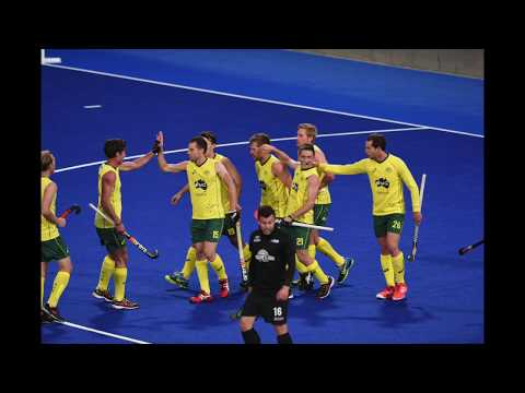 Australia 3 beat New Zealand 1. Mens hockey IFOH 2016. Video and images