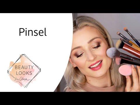 Pinsel - Was benutze ich wofür?