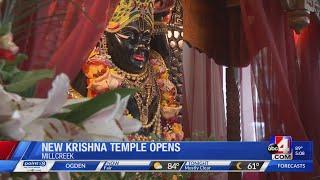 New Krishna Temple Opens