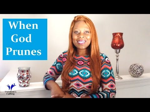 WEDNESDAY WORD - When God Prunes...