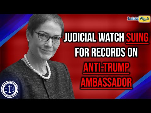 Tom Fitton: Judicial Watch Suing For Records on Anti-Trump Ambassador & Intel Inspector General