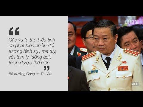 Tướng Tô Lâm nói về người biểu tình ở Việt Nam
