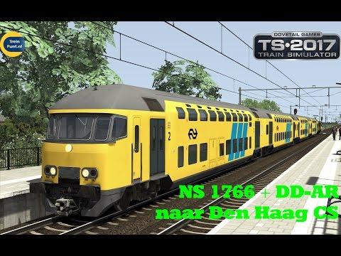 NS 1766 +DD-AR naar Den Haag CS | Train Simulator 2017