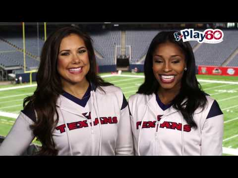 Play 60® with the Houston Texans Cheerleaders