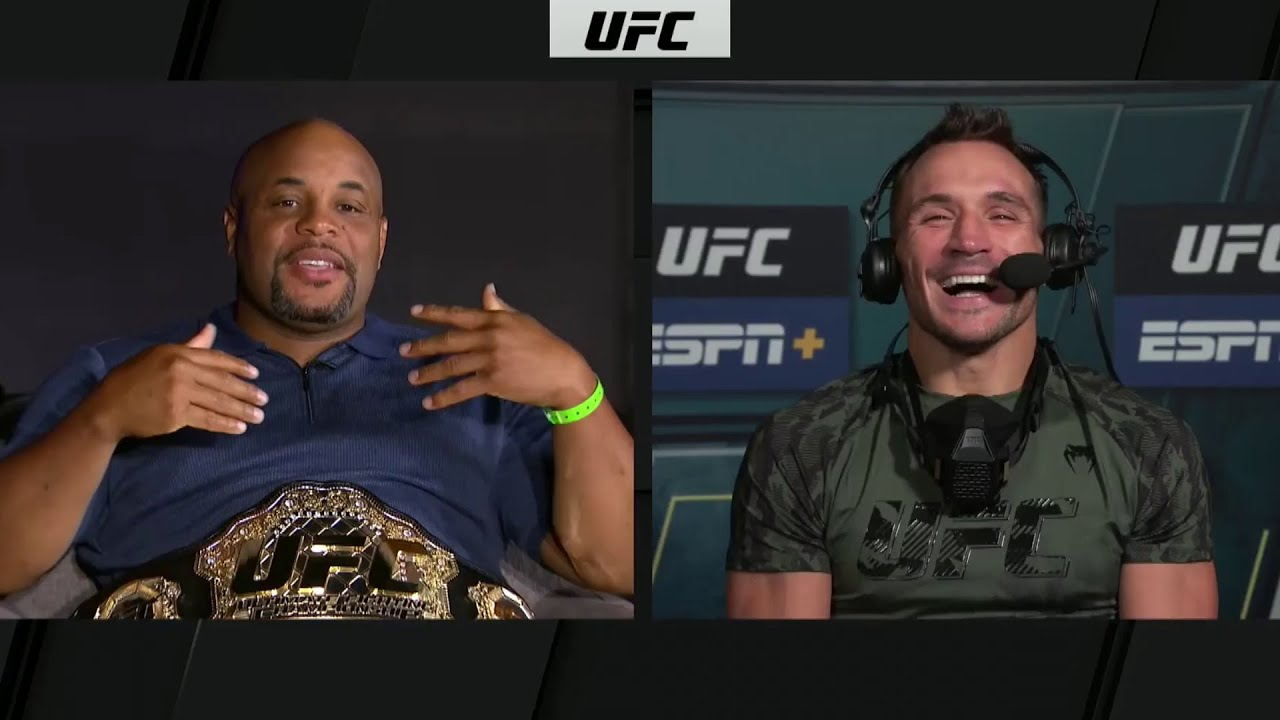 Michael Chandler Stops By After Making Weight | UFC 262