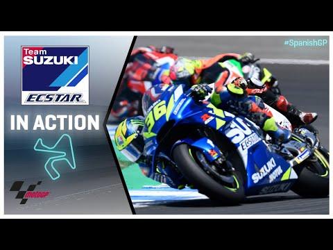 Suzuki in action: Gran Premio Red Bull de España
