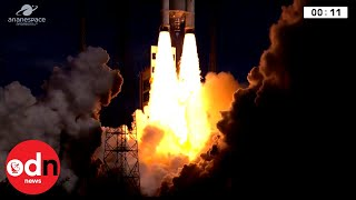 Blast Off! ESA Launches Ariane 5 Rocket Carrying Data Relay System