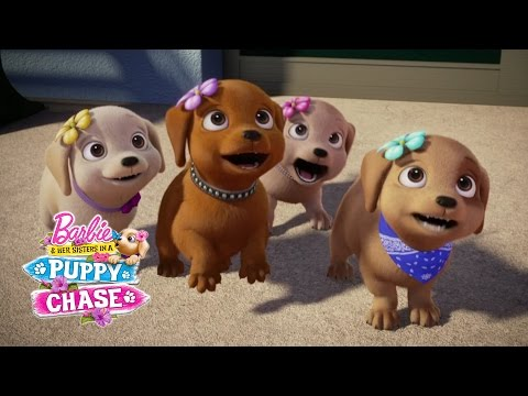 Barbie & Her Sisters in a Puppy Chase Teaser | Barbie ...