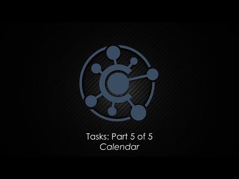 Tasks: Part 5 – Calendar