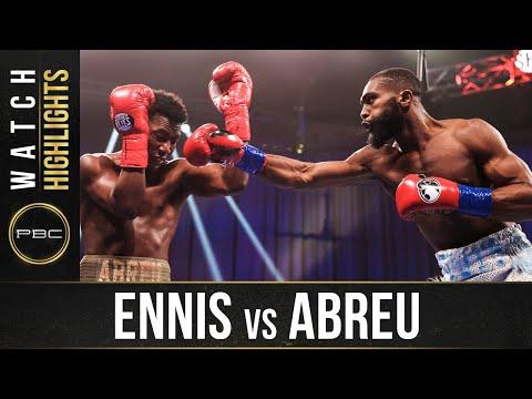 Ennis vs Abreu HIGHLIGHTS: September 19, 2020 | PBC on SHOWTIME
