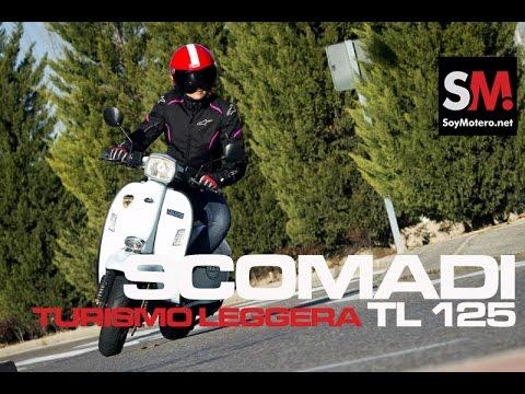 Prueba Scomadi Turismo Leggera TL 125 2016