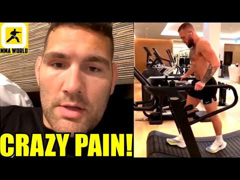 The worst case scenario would be that I will have to get my leg amputated-Chris Weidman,Ali on Zabit