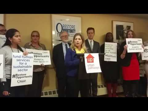 Allison Sesso - Restore Opportunity Now Press Conference 2-2-17