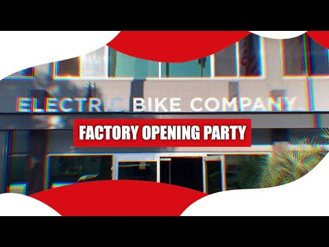 Oct 30th - Brand New Model R Factory Opening Party! (+Bike Auction)