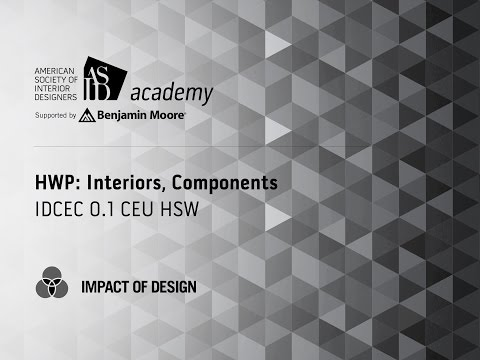 Course Preview: HWP: Interiors, Components (2)