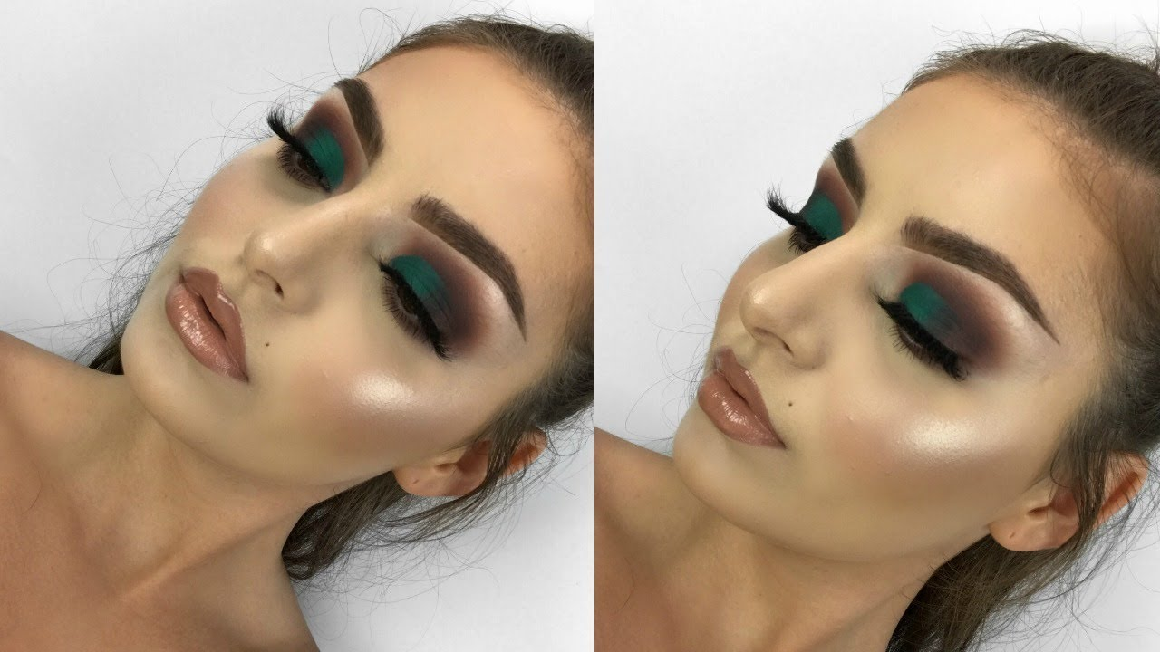 morphe x jaclyn hill palette collab makeup tutorial | shelby triglia