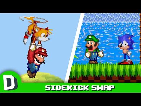 If Mario & Sonic Swapped Sidekicks