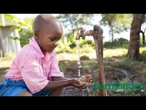 Barnfondens arbete med rent vatten