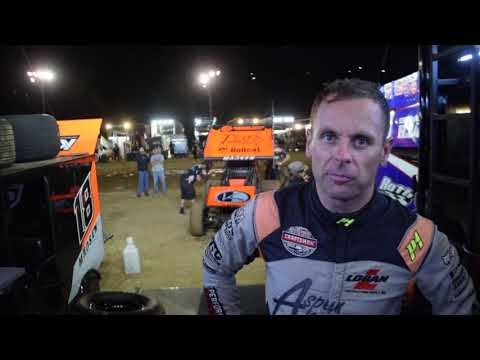Follow Ian Madsen and his KCP Racing team through the night as they competed at Placerville Speedway in Placerville, CA. - dirt track racing video image