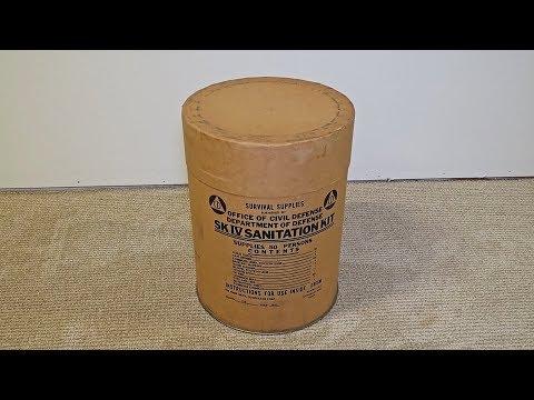 What's Inside Survival 1963 Sanitation Kit? - UCe_vXdMrHHseZ_esYUskSBw