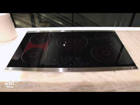 LG 36in Electric Cooktop LSCE365ST Tour
