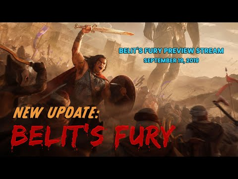 Conan Unconquered: Belit's Fury Preview Stream