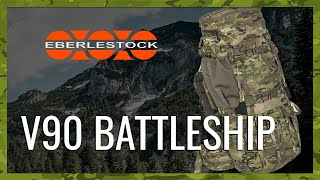 video - Batoh EBERLESTOCK V90 BATTLESHIP V3 - Military Range CZ/SK