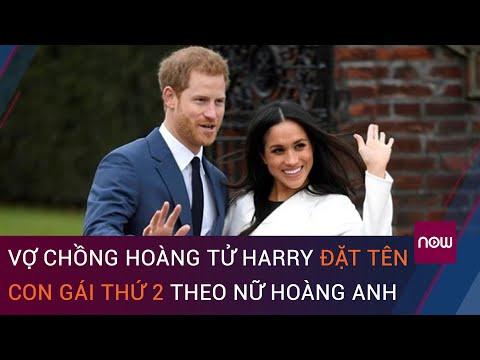 Vợ chồng hoàng tử Harry đặt tên con gái thứ 2 theo nữ hoàng Anh | VTC Now