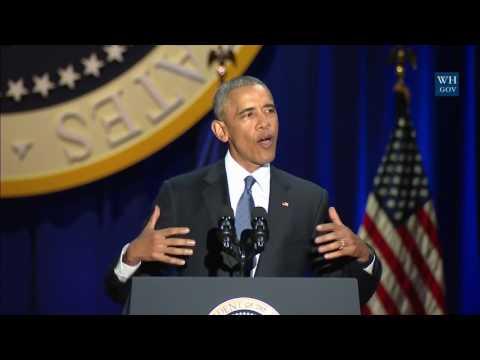 Watch President Obama's full farewell speech