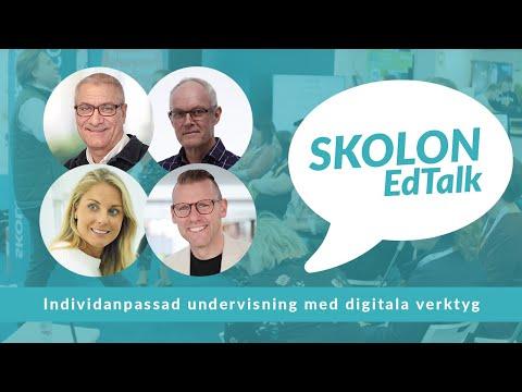 WEBINAR: Skolon EdTalk - individanpassad undervisning med digitala verktyg