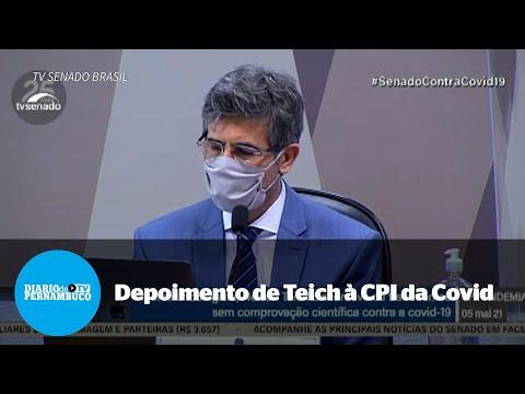 Teich vincula renúncia à pressão de Bolsonaro para usar cloroquina